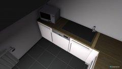 Raumgestaltung Badezimmer - Flur - Küche in der Kategorie Badezimmer
