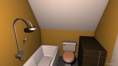 Raumgestaltung Badezimmer Groß in der Kategorie Badezimmer