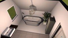 Raumgestaltung badezimmer im kinderzimmer in der Kategorie Badezimmer