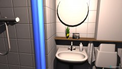 Raumgestaltung Badezimmer Lorenz in der Kategorie Badezimmer