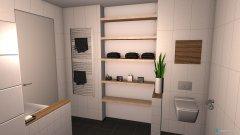 Raumgestaltung Badezimmer Marie Thomas in der Kategorie Badezimmer