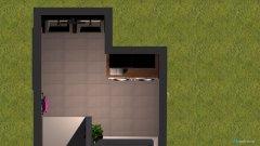 Raumgestaltung Badezimmer mit Eckbadewanne  in der Kategorie Badezimmer