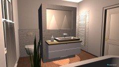Raumgestaltung Badezimmer OG in der Kategorie Badezimmer