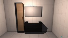 Raumgestaltung Badezimmer Patkenheide in der Kategorie Badezimmer