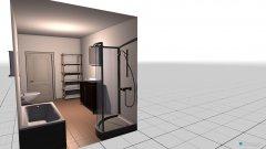 Raumgestaltung Badezimmer Paul neue Wohnung in der Kategorie Badezimmer