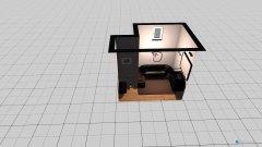 Raumgestaltung Badezimmer Petra in der Kategorie Badezimmer