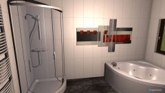Raumgestaltung Badezimmer unten groß in der Kategorie Badezimmer