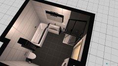 Raumgestaltung Badezimmer Wandteilung in der Kategorie Badezimmer