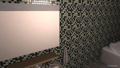 Raumgestaltung Badezimmer weiß in der Kategorie Badezimmer