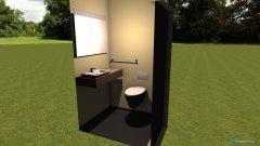 Raumgestaltung badezimmer_klein in der Kategorie Badezimmer