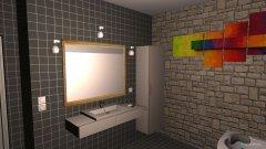 Raumgestaltung Badkamer Patricia in der Kategorie Badezimmer