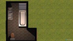 Raumgestaltung badkamer in der Kategorie Badezimmer