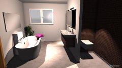 Raumgestaltung BadMarmorboden in der Kategorie Badezimmer