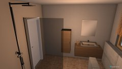 Raumgestaltung Badumbau in der Kategorie Badezimmer