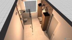 Raumgestaltung Badzimmer entwutf 2 in der Kategorie Badezimmer