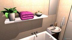 Raumgestaltung Badzimmer oben in der Kategorie Badezimmer