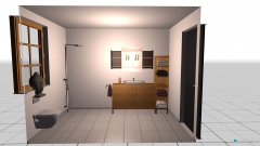 Raumgestaltung badzimmer in der Kategorie Badezimmer