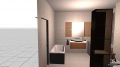 Raumgestaltung bagno ok in der Kategorie Badezimmer
