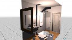 Raumgestaltung bagno in der Kategorie Badezimmer