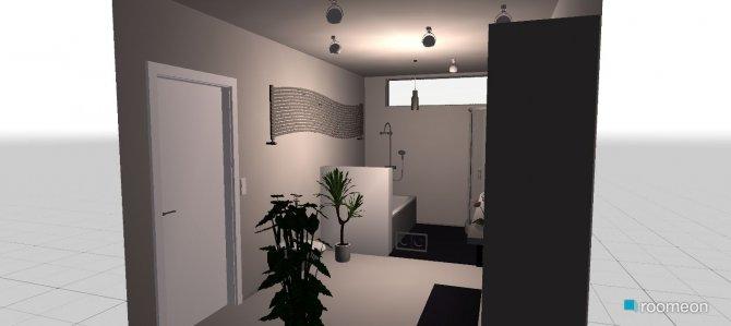 Raumgestaltung Banheiro M&D in der Kategorie Badezimmer