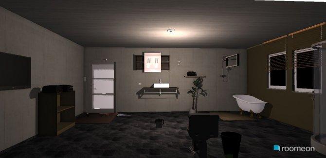 Raumgestaltung banheiro in der Kategorie Badezimmer