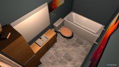 Raumgestaltung Basement Bathroom in der Kategorie Badezimmer