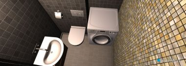 Raumgestaltung Bathroom-1 in der Kategorie Badezimmer