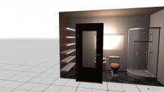 Raumgestaltung bathroom inside guest room in der Kategorie Badezimmer