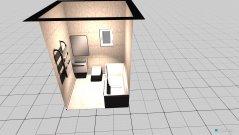 Raumgestaltung bathroom upstairs in der Kategorie Badezimmer