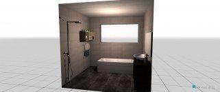 Raumgestaltung Bathroom in der Kategorie Badezimmer