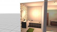 Raumgestaltung Bathrooms in der Kategorie Badezimmer