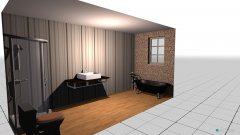 Raumgestaltung bbb in der Kategorie Badezimmer