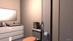 Raumgestaltung condo bath in der Kategorie Badezimmer