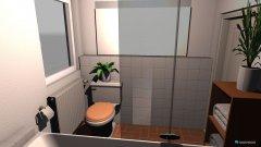 Raumgestaltung Danis Bad in der Kategorie Badezimmer