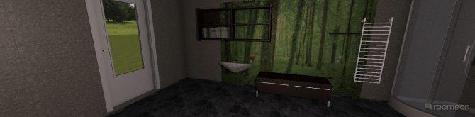 Raumgestaltung Das Entworfene badezimme3r in der Kategorie Badezimmer
