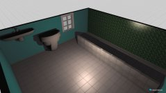 Raumgestaltung draft 1 in der Kategorie Badezimmer