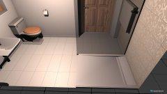 Raumgestaltung Dusche unten in der Kategorie Badezimmer