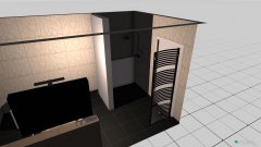 Raumgestaltung EG-Badezimmer in der Kategorie Badezimmer