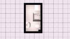 Raumgestaltung Eintrachtstr. 13, EG. rechts - Bad in der Kategorie Badezimmer