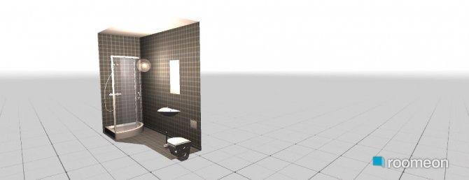 Raumgestaltung ensuite in der Kategorie Badezimmer