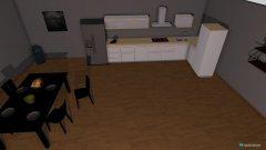 Raumgestaltung Erste Wohnung  in der Kategorie Badezimmer