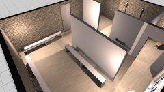 Raumgestaltung Fitness Garderobe in der Kategorie Badezimmer