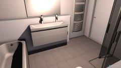 Raumgestaltung Fliestedten Bad in der Kategorie Badezimmer