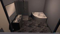 Raumgestaltung Fürdő 01 in der Kategorie Badezimmer