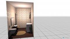 Raumgestaltung fürdő földana in der Kategorie Badezimmer