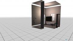 Raumgestaltung Fürdőszoba v1 in der Kategorie Badezimmer
