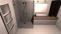 Raumgestaltung Fürdőszoba in der Kategorie Badezimmer