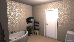 Raumgestaltung fürdő in der Kategorie Badezimmer