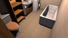 Raumgestaltung furdo in der Kategorie Badezimmer