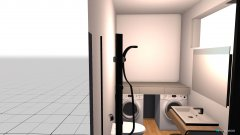 Raumgestaltung Gäste Bad in der Kategorie Badezimmer